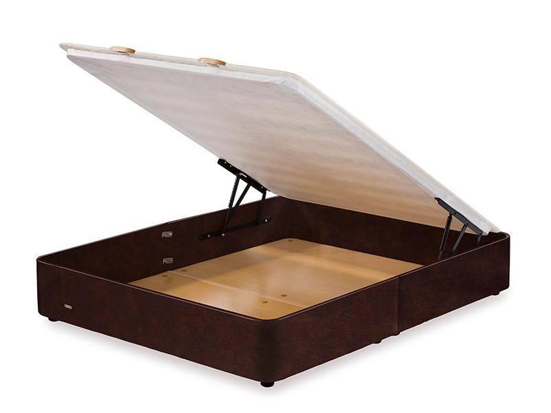 Muebles Vázquez, descanso, canapé de piel chocolate