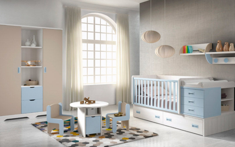 Muebles Vázquez, dormitorio infantil