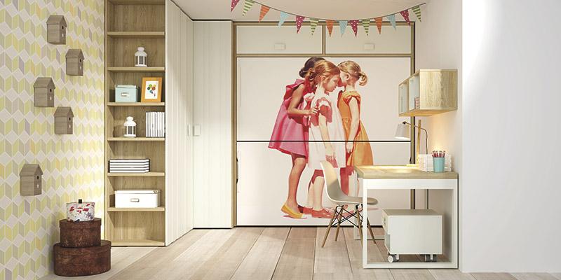 Muebles Vázquez, dormitorio juvenil actual