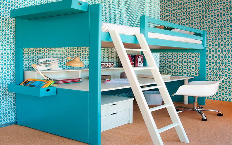Muebles Vázquez en Santa Olalla, dormitorios juveniles lacados