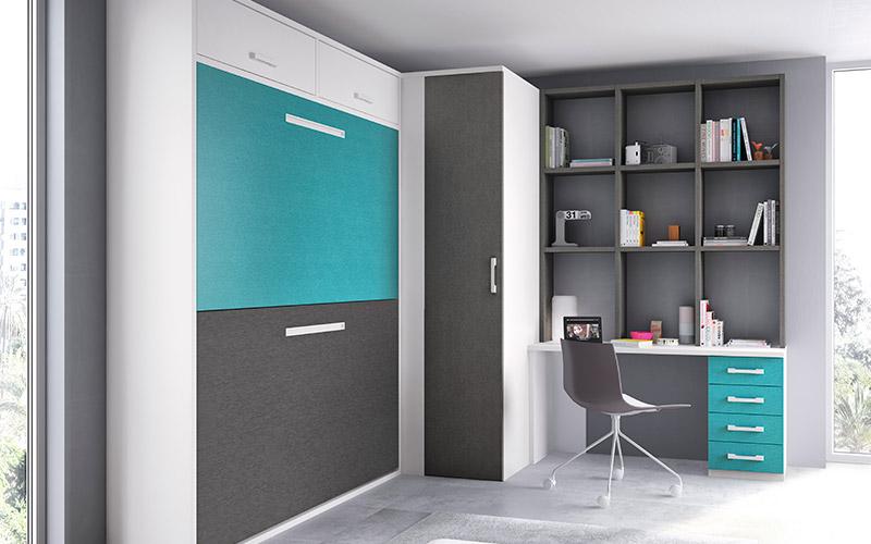 Muebles Vázquez, dormitorio juvenil soluciones de espacio
