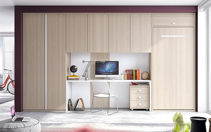 Muebles Vázquez, dormitorio juvenil, soluciones de espacio