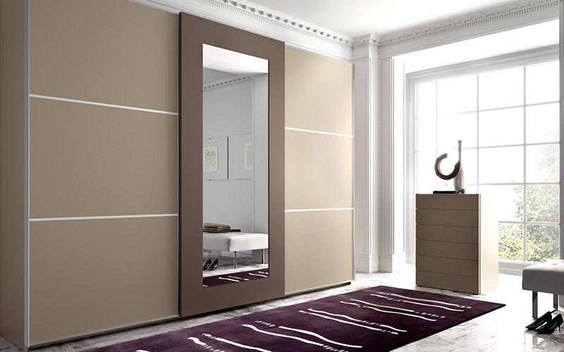 Muebles v zquez armarios y vestidores for Roperos empotrados para dormitorios con espejo