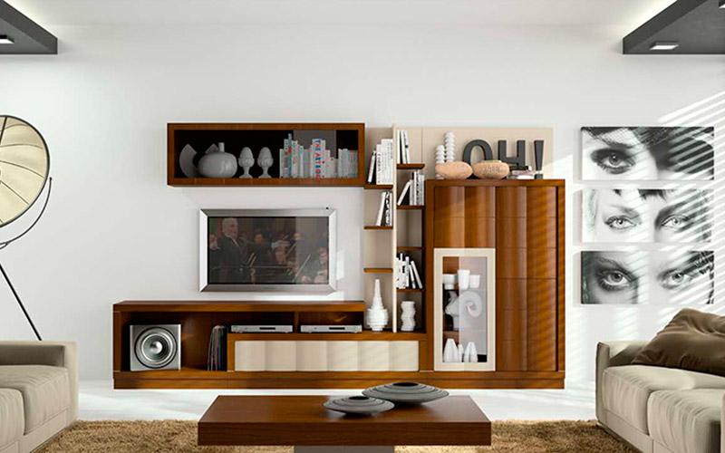 Muebles Vázquez, salón contemporáneo
