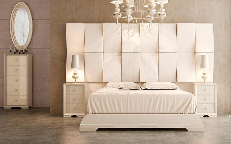 Muebles Vázquez, dormitorio contemporáneo