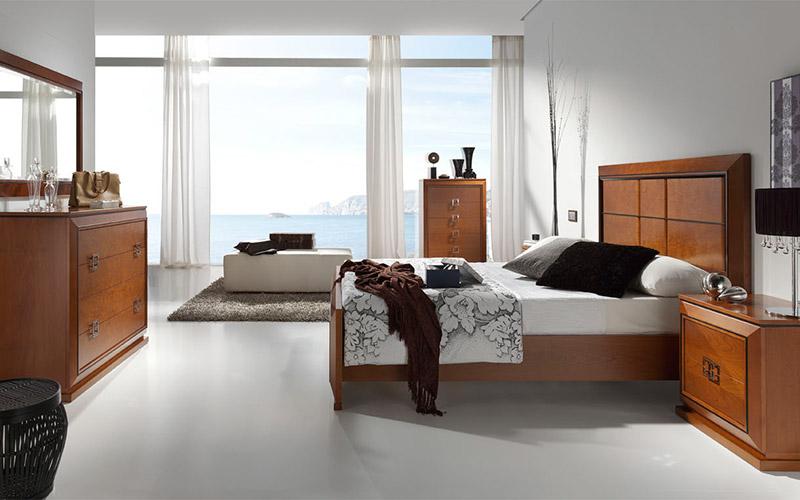 Muebles Vázquez, dormitorio con estilo