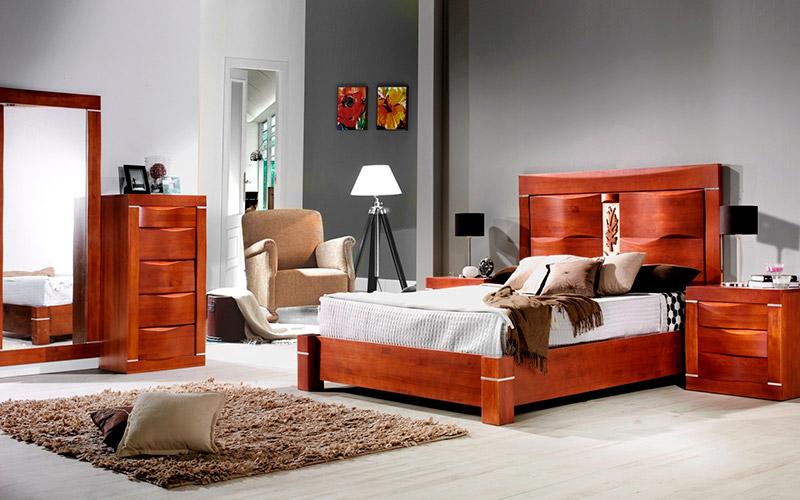 Muebles Vázquez, dormitorio de madera