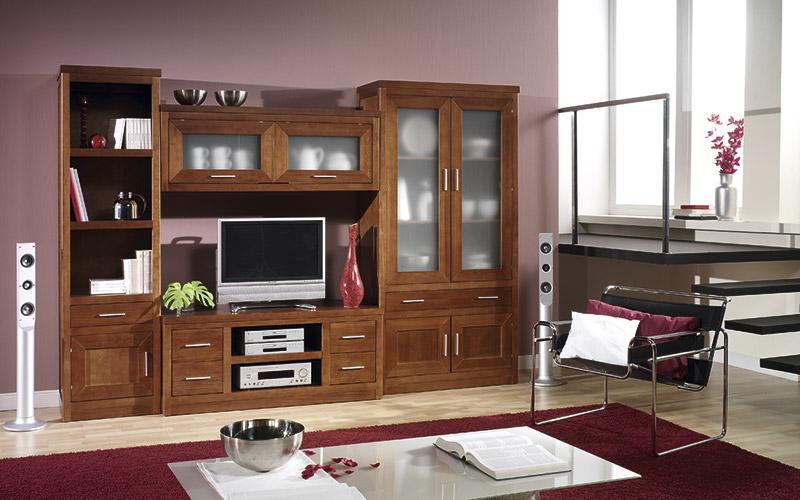 Muebles Vázquez, salones de madera