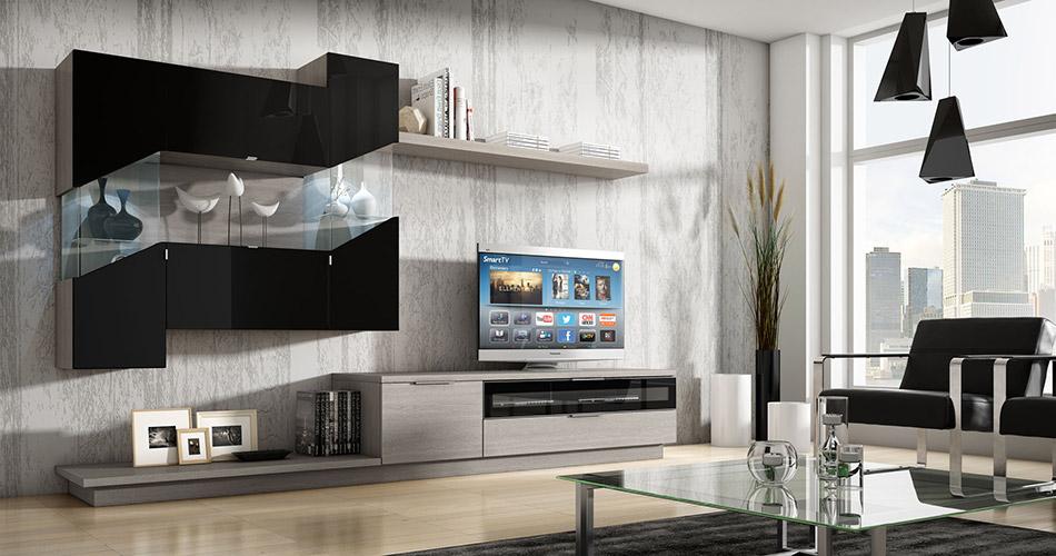 Muebles v zquez salones - Ambientes salones modernos ...