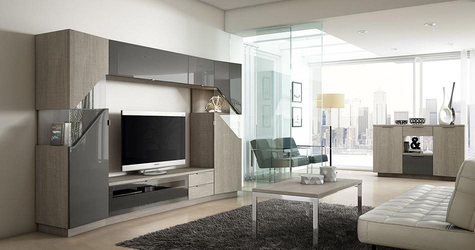Muebles Vázquez, salones modernos