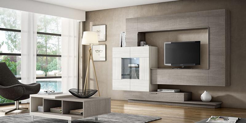 Muebles vazquez santa olalla salones modernos 800 for Salones modernos madrid